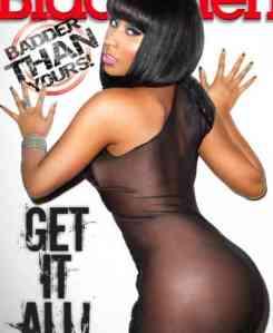 Nicki Minaj graces Black Men magazine August Issue