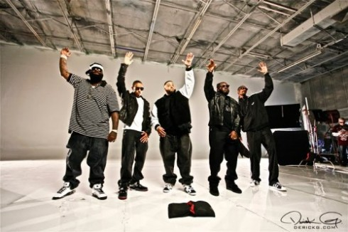 DJ Khaled, Nicki Minaj, Rick Ross, Fabolous, Busta Rhymes, T Pain -  All I do Is Win Remix