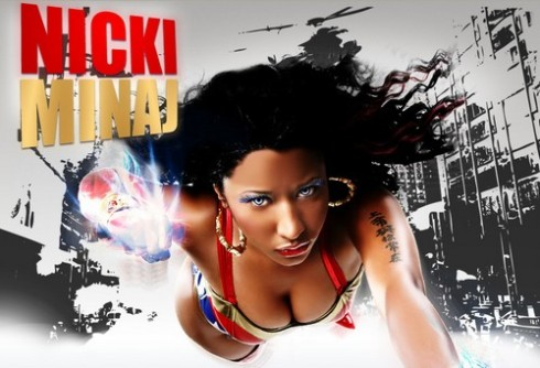 Nicki Minaj features on the remix of All I do is Win